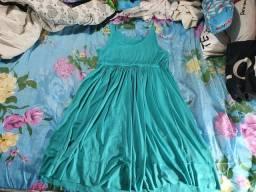 Vestido de malha de gestante