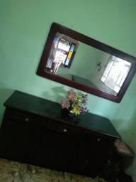 Mesa Mogno  , Buffet,  e Espelho