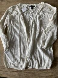 Casaco de tricot importado - nunca usado