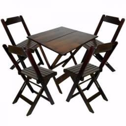 Mesas e Cadeiras Dobráveis - Paifes