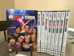 Coleção Big Bang a Teoria - Temporadas completas 1 - 8