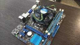 Placa Mãe Motherboard Asus H61M K Socket 1155