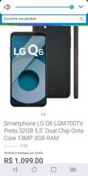 Troco lg q6 + play 3 por iPhone 6