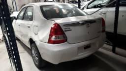 Sucata Toyota Etios 2013/13 1.5 96cv Flex
