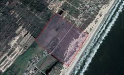 Área de 324.000 m2 a beira mar com 657 m de frente para grande investidor em SC