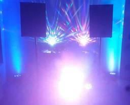 Alugo som & iluminação para eventos