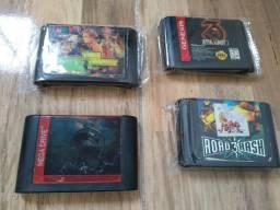 Cartuchos de Mega Drive