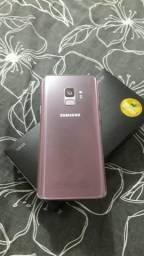 Samsung s9 128gb 1 mês de uso zero!!!