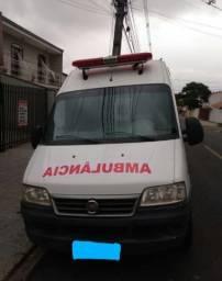Ducato ambulância UTI longa alta