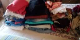 Lote de roupas para Bazar e Brechó