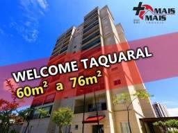 Welcome Taquaral - 2 e 3 dormitórios Ultimas Unidades Excelente desconto