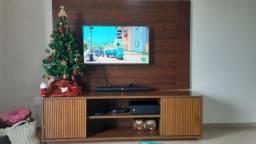 Painel Para TV até 55 Polegadas, cor imbuia, Usado em Excelente Estado