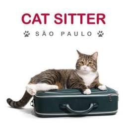 Cuidador de gatos (ofereço-me)