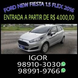 IMBATIVEL! Ford new fiesta 1.5 2016, falar com Igor - 2016