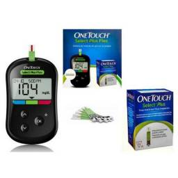 Medidor de Glicemia One Touch Select Plus Flex com 10 tiras