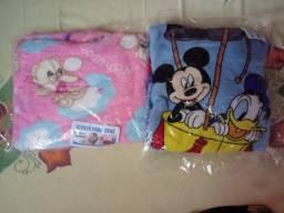 Roupa, toalha e manta infantil