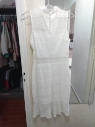 Vestido Branco Fem M/G