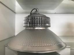 Luminária Industrial High Bay Cinza 100W