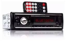 Radio c/ Bluetooth/Usb/Controle Novo