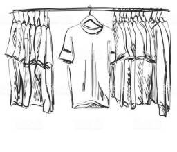Vendo roupas de 3 a 25 reais