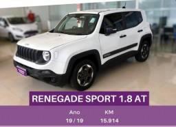 JEEP RENEGADE 1.8 16V FLEX 4P AUTOMÁTICO - 2019