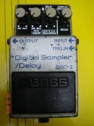Pedal Boss Dsd2 Digital Sampler/delay Made In Japan Ano 1985