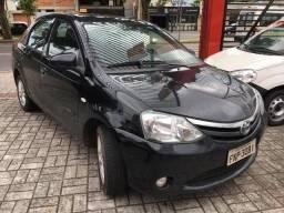"""A2 Toyota Etios Sedan 1.5 Flex """" Único Dono """" Todo Original - 2014 - 2013"""