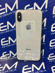 Apple IPhone X 256Gb Prata - Seminovo - com nota e garantia, somos loja fisica