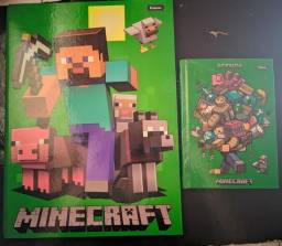 Caderno e agenda Minecraft