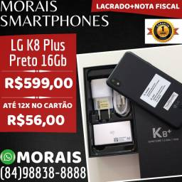 LG K8 Plus 16Gb Preto (LACRADO+NOTA+GARANTIA 12 MESES)