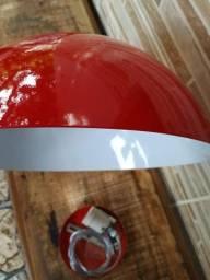 Luminária pendente de alumínio