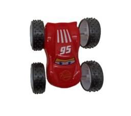 Carrinho Racing Vira Cambalhota Bate E Volta Carros Mcqueen