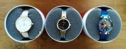 Relógio Curren feminino em 12x!!!