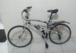 Vendo bicicleta Caloi 100 de alumínio, 21 marchas