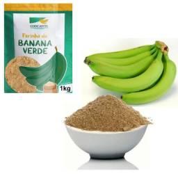 Título do anúncio: Farinha De Banana Verde 1 Kg PURA 100%