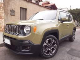 Título do anúncio: Jeep Renegade Longitude1.8 4x2 Automático-VerdeExercito-Um Dono-Mais completo categoria !!