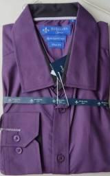 Camisa Dudalina Social sport SLim fit Namorados algodão Egpicio