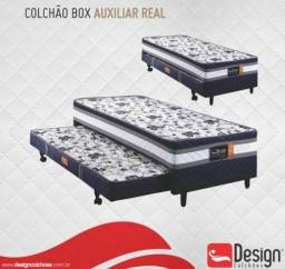 Cama Box C/ Auxiliar