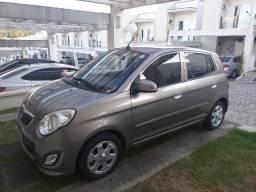 Picanto EX 2010/2011. Carro original, gasolina, completo, baixa km