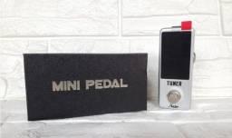 Título do anúncio: Pedal Afinador Rowin Tuner LT-910 (Envio imediato) - Tipo Polytune