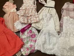 Lote vestidos 1 - 3 anos