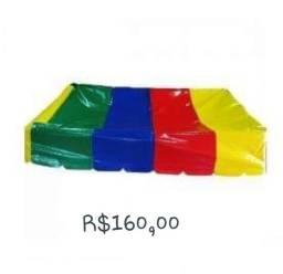 Telhadinho piscina de bolinhas 2x2