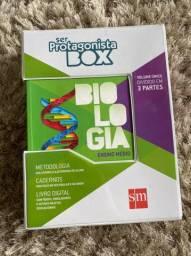 Livro Ser Protagonista Box Biologia COMPLETO