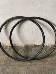 Par de pneu bontranger 700c