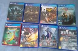 Título do anúncio: Jogos PS4  troca
