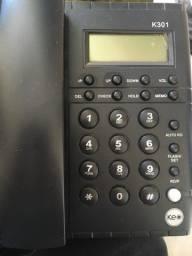 Telefone Keo K301 Uso em Mesa ou Parede Intelbras