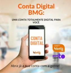 Conta Digital Grátis + Cartão de Crédito