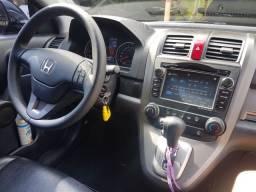 Honda CRV 2011 LX Preta - Multimídia, couro, câmera de ré