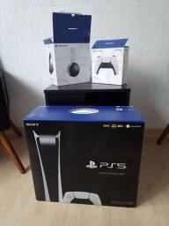 PS5 Edição Digital + Controle Extra +Headset Pulse 3D