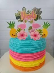 Topo de bolo , folhas adesivas , xerox e impressões.